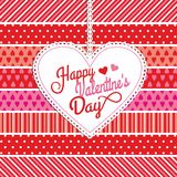 Vector illustration of valentine. Stock Images