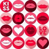 Vector illustration of valentine. Royalty Free Stock Images