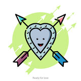 Vector illustration for Valentines Day Royalty Free Stock Photos