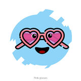 Vector illustration for Valentines Day Royalty Free Stock Images