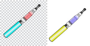 Vector illustration of vaporizer. Vector illustration, of vaporizer  of vaporizer Royalty Free Stock Photo