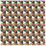 Vector illustration of vintage color pattern. Wallpaper,background Stock Image