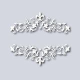 Vector illustration of vintage floral ornament Royalty Free Stock Image