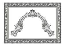 Vintage Frame and Ornament Royalty Free Stock Photography