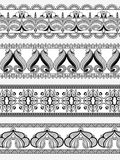 Vintage ornate floral border for divider Royalty Free Stock Photography