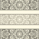 Vector illustration with vintage pattern. Stock Image