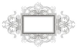 Vintage Vintage Frame Royalty Free Stock Photography