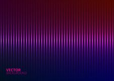 Vector Illustration of a Violet Music Equalizer Stock Photography
