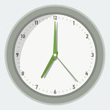 Vector illustration of wall clock Royalty Free Stock Image