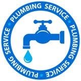 Water tap icon plumbing service Royalty Free Stock Photos
