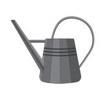Vector illustration of a watering can Royalty Free Stock Photography