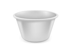 Vector Bowl Stock Image