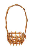 Vector illustration of wicker basket Royalty Free Stock Photo