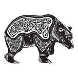 Vector illustration of wild totem animal - Bear Stock Images