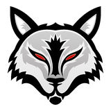 Vector illustration. Wolf. royalty free illustration