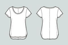 T-shirt vector illustration