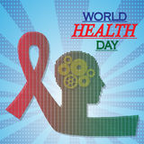 Vector illustration for World Health Day Background royalty free illustration