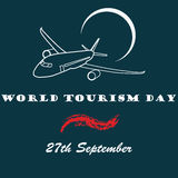 Vector illustration World Tourism day. Vector illustration World Tourism day Royalty Free Stock Image