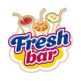 Fresh bar emblem Royalty Free Stock Photography