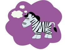 Vector illustration with zebra Stock Photos