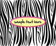 Zebra pattern Royalty Free Stock Photo