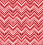 Vector illustration with zgizag. Monochromatic seamless background with zigzag Vector Illustration