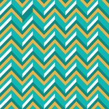 Simple and Effective Zigzag Retro Background with 3D Effect royalty free illustration
