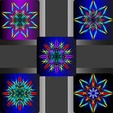 Vector illustrations of colorful flower Royalty Free Stock Photography