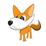 Vector illustrations of fox cartoon Royalty Free Stock Image