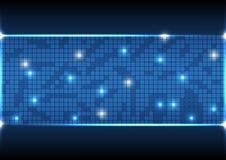 Vector Illustrations-Kommunikationsdaten der abstrakten Hintergrundtechnologie elektronische lizenzfreies stockbild