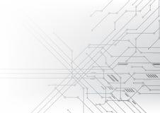 Vector Illustrations-Kommunikationsdaten der abstrakten Hintergrundtechnologie elektronische lizenzfreies stockfoto