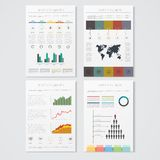 Vector illustrations of modern info graphics. Use Royalty Free Stock Images
