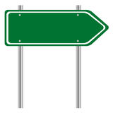 Vector illustrator, Sign post. Stock Photos