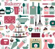 Vector illustratuon van bakkerij Royalty-vrije Stock Afbeelding