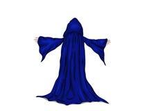 Vector a ilustração de um feiticeiro ou de uma monge. Ilustração Stock