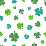 Vector a ilustração de um fundo do dia do ` s de St Patrick Fotografia de Stock Royalty Free
