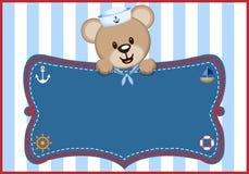 Sailor Bear Digital Clipart Vector royalty free stock photo