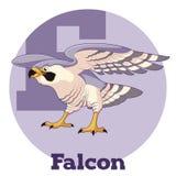 ABC Cartoon Falcon. Vector image of the ABC Cartoon Falcon Royalty Free Stock Photo