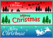 Vector image banner christmas for background Royalty Free Stock Images