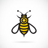 Vector image of an bee design. stock illustration