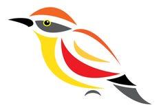 Vector image of an bird Stock Photo