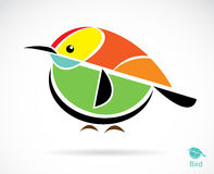 Vector image of an bird Royalty Free Stock Image