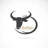 Vector image of an buffalo design