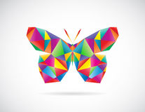 Vector image of an butterfly design Royalty Free Stock Images