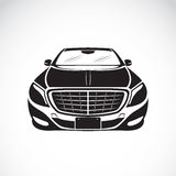 Vector image of an car design on white background. Royalty Free Stock Image