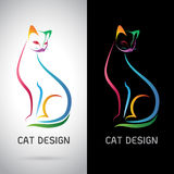 Vector image of an cat design Stock Photo