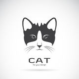 Vector image of an cat face design. Royalty Free Stock Image