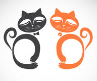 Vector image of an cat Royalty Free Stock Image