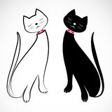 Vector image of an cat Royalty Free Stock Photo