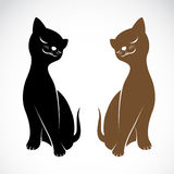 Vector image of an cat Stock Photography